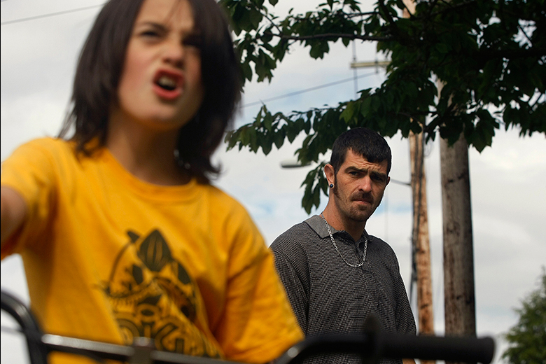 Aaron Torrance, 30, looks over at his son Kaeden, 9, as they walk down 75th Street in Everett on June 6. After 15 years of escalating drug use - marijuana, meth, cocaine, OxyContin, and finally heroin - and four different stints in jail, Torrance has gotten clean and gained full custody over his two young sons, Kaeden and Liam, 3. Torrance is part of a growing trend of people increasingly turning to heroin after abusing OxyContin. Heroin, which was not regularly seen in Snohomish County until around 2002, is now relatively common. It is cheaper than OxyContin, and more accessible, and the formula of OxyContin was changed, making it harder to smoke.